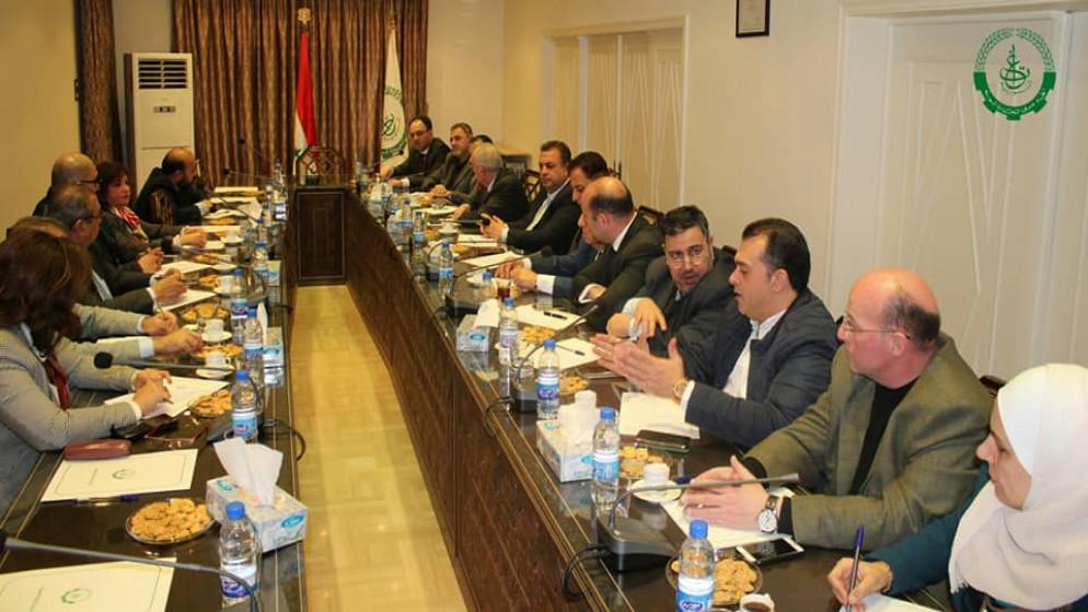 """""""قيود إدارية"""" تعيق المبادلات التجارية بين الأردن وسوريا"""