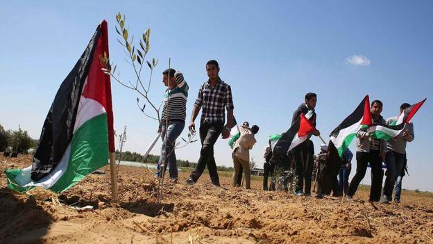 يوم الأرض الفلسطيني يتصدر مواقع التواصل الاجتماعي