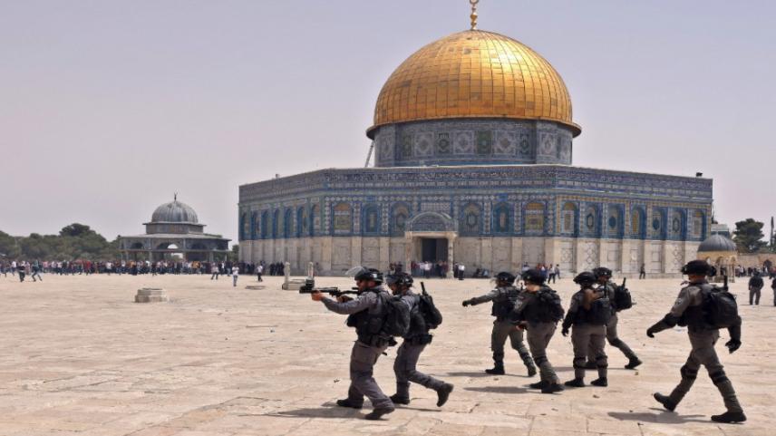 """الأردن يدين اعتداء السلطات الصهيونية على موظفي أوقاف القدس وشؤون الأقصى و تذليل العقبات أمام """"قطعان المستوطنين"""" للاقتحام"""