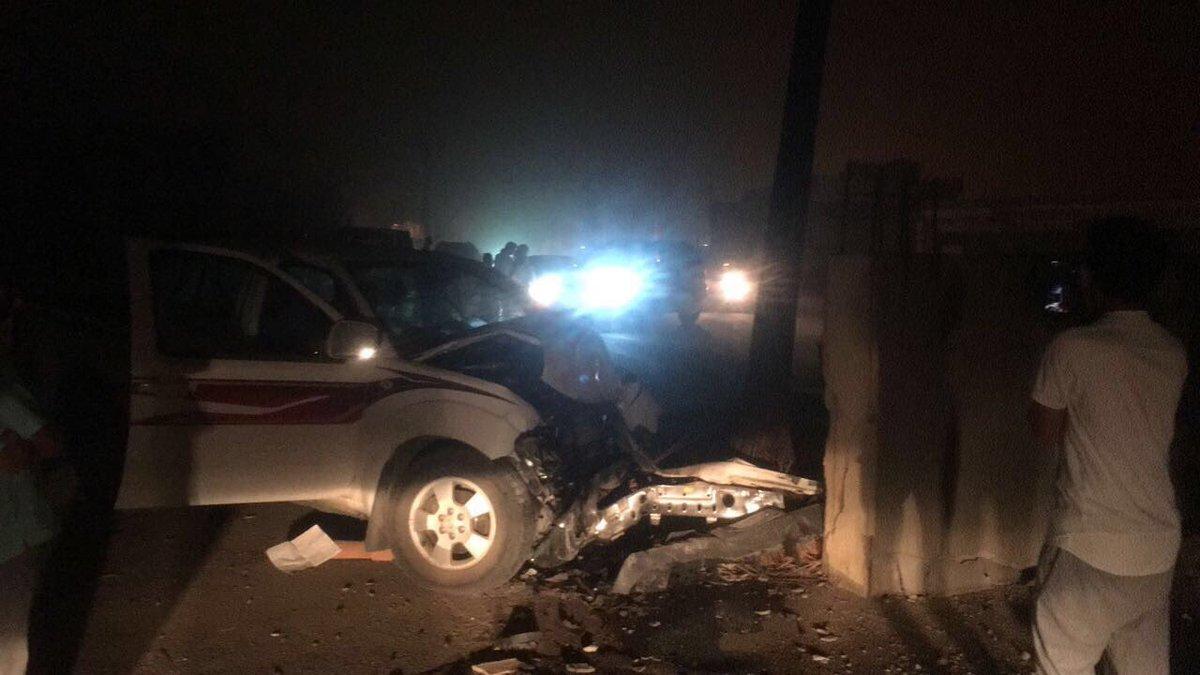 وفاة عشريني إثر اصطدام مركبته بعمود كهرباء في الكرك
