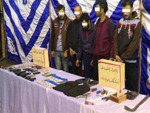 القبض على أفراد العصابة الأردنية الهاربين من السجن اثناء محاولتهم السفر الى تركيا