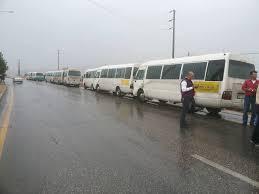 الأغوار الشمالية : احتجاجاً على تخفيض نسبة السعة إلى 50% باصات النقل العام تضرب عن العمل