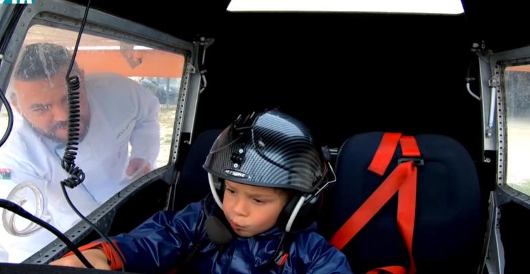 """مقلب بالطيارة مع """"الكابتن الصغير"""""""