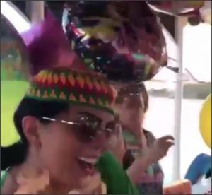 بالفيديو .. حورية فرغلي ترقص بعيد ميلادها