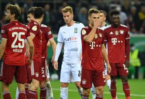 بالصور  ..  سقوط مذل لبايرن ميونخ في كأس ألمانيا