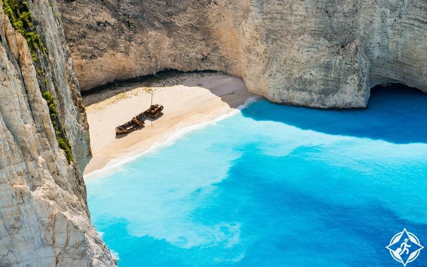 بالصور ..  شاهد أجمل شواطئ اليونان