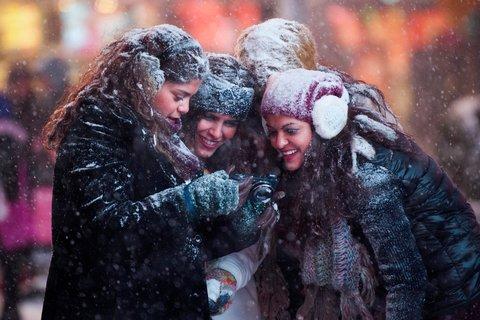 بالصور: ثلث الأمريكيين في عين العاصفة الثلجية