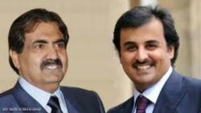 """تقرير أمريكي يكشف الاسباب الحقيقية لنقل أمير قطر سلطاته لنجله """"تميم"""""""