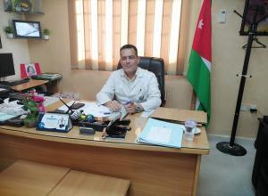 الدكتور إحسان مطالقة مبارك المنصب الجديد
