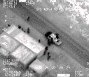 """ما هي حقيقة فيديو """" قصف التحالف الأمريكي لرتل عسكري روسي في دير الزرو ؟ """"شاهد"""""""