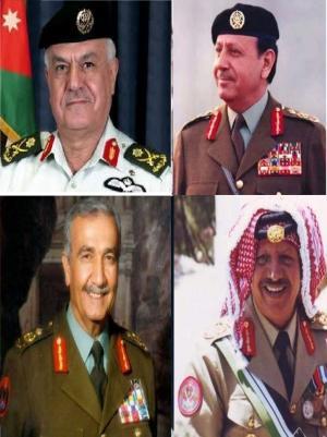 رئيس هيئة الاركان يزور عائلات ثلاثه من قادة الجيش السابقين