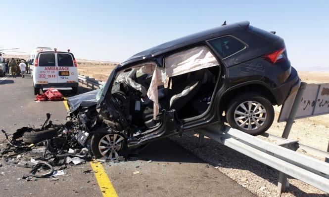 إصابة 4 أشخاص في حادث طرق قرب حيفا