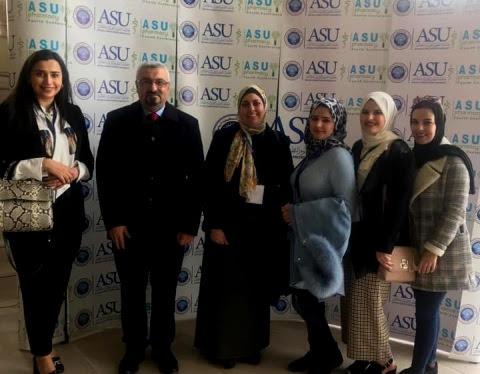 """الطالبة الشيخلي من """"عمان الاهلية"""" تشارك بمؤتمر بحوث الدراسات العليا في جامعة العلوم التطبيقية"""
