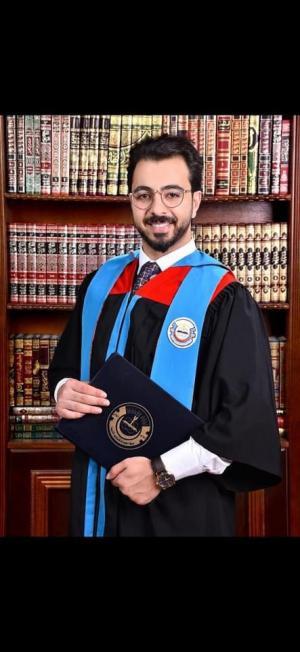 المهندس أحمد عبد اللطيف المومني مبارك التخرج