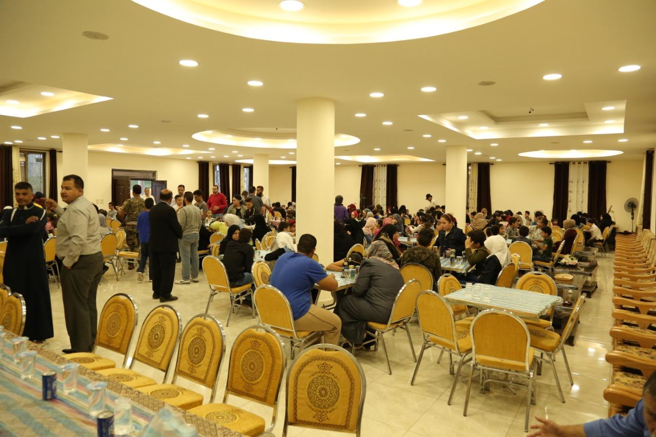 رابطة الأسرة الرفاعية تقيم حفل إفطار لـ300 يتيم وأسرهم