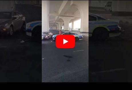 """بالفيديو  ..  فتاة كويتية بسيارة """"لامبورجيني"""" تهرب من الشرطة خلال مطاردة مثيرة"""
