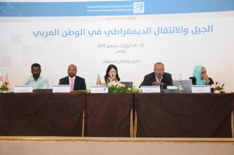 """افتتاح مؤتمر """" الجيل والانتقال الديمقراطي في الوطن العربي"""""""