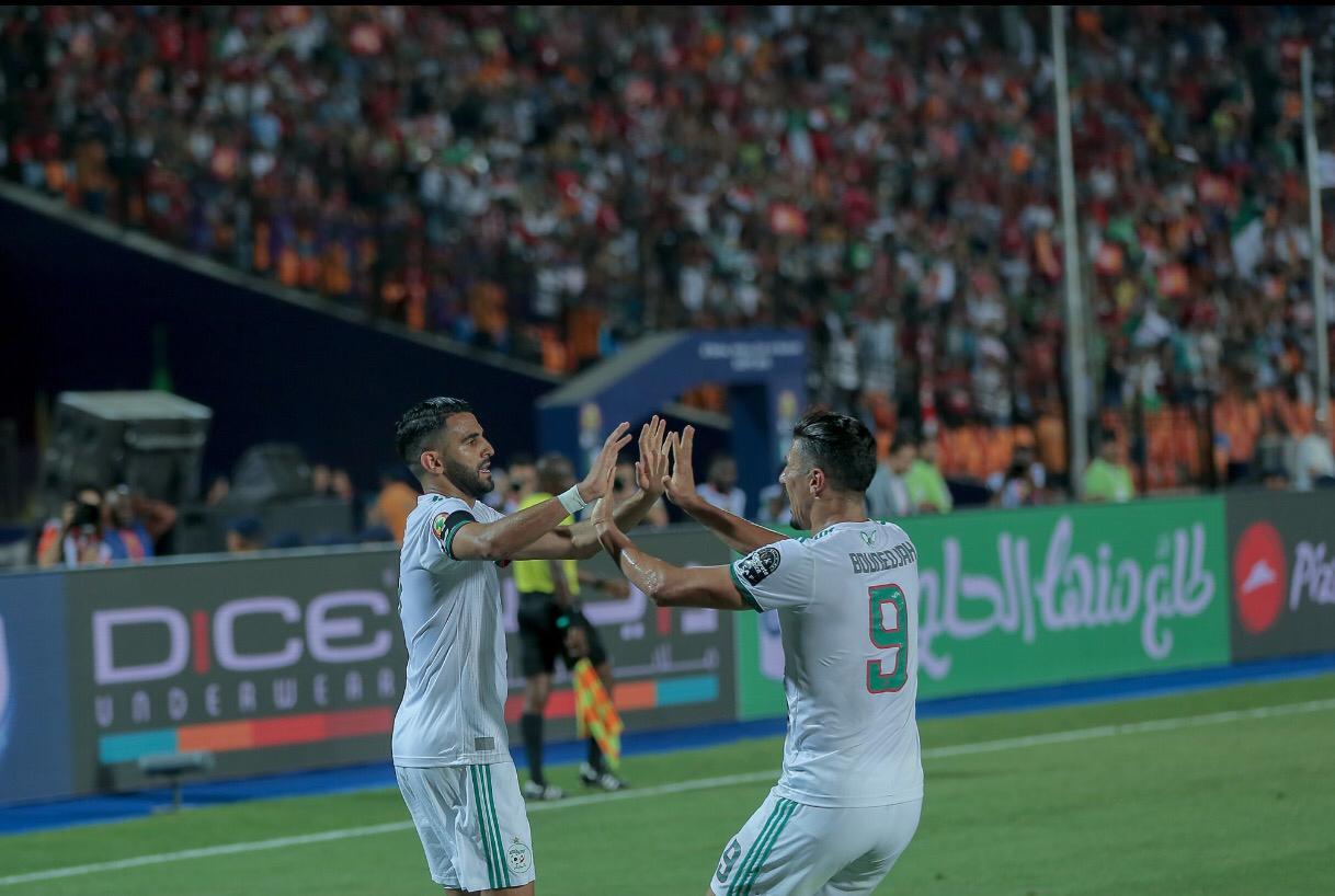 بالفيديو :الجزائر تنتصر على نيجيريا وتتأهل الى نهائي كأس افريقيا