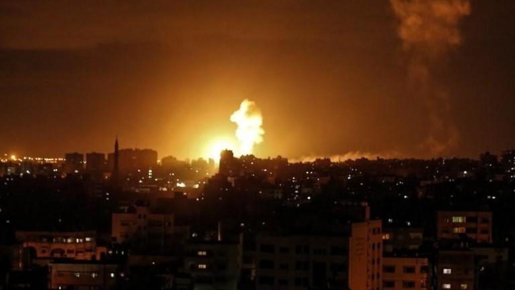 قصف إسرائيلي على موقعين لفصائل فلسطينية