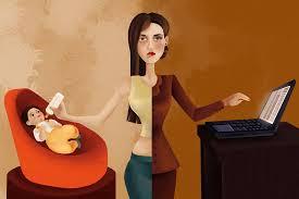"""أجواء العمل الرديئة تجعل النساء """"أمهات سيئات"""""""