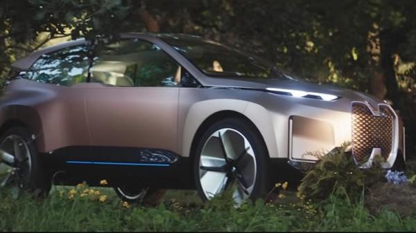 أشبه بالخيال ..  بي إم دبليو تستعرض مركبة المستقبل