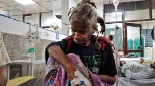 القبض على هندي لحبسه أخته وتعذيبها بوحشية لعامين