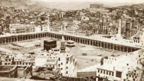 عندما احتل جهيمان الحرم المكي لخمسة عشر يوما وأعلن ظهور المهدي المنتظر سنة 1979
