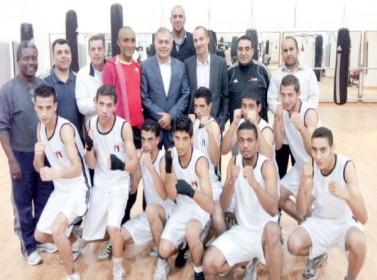 منتخب شباب الملاكمة يتحضر لبطولة آسيا في الفلبين