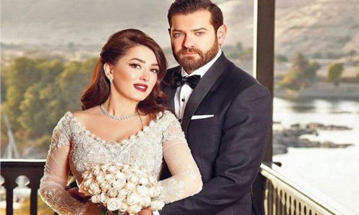 كندة علوش تعرض فستان زفافها من عمرو يوسف للبيع .. فما السبب؟- (صورة)