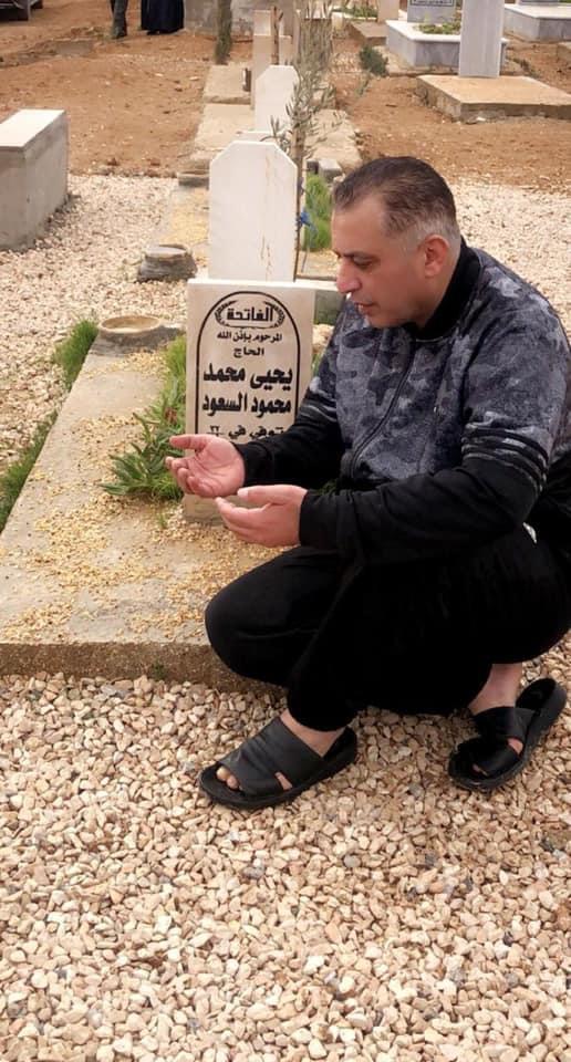 هذا ما كتبه الظهراوي بعد زيارته قبر صديقه الراحل النائب السعود