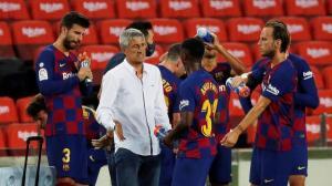 ماذا قال كيكي سيتين عن مستقبله مع برشلونة؟
