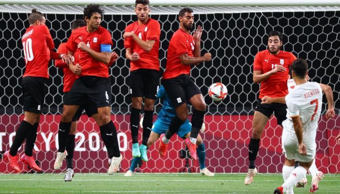 مصر تفرض التعادل على اسبانيا في افتتاح الأولمبياد