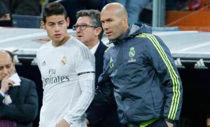 زيدان: رودريغيز لن يغادر أسوار ريال مدريد