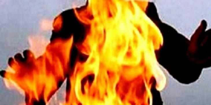 في حادثة مروعه  .. سيدة تقدم على حرق نفسها بعد ارتباط زوجها بأخرى