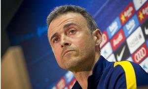 إنريكي: هدفنا الثلاث نقاط أمام أتليتكو مدريد