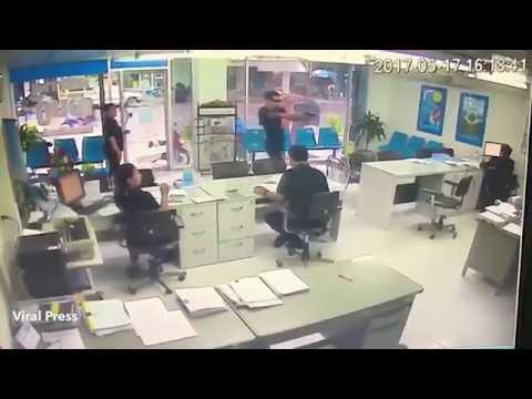 بالفيديو.. جريمة مروعة .. قتل صديقته بـ 6 رصاصات أمام الأعين!