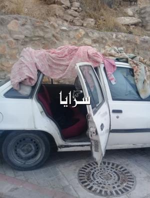 الكرك : خمسيني يروي معاناته لسرايا : أنام داخل سيارة في الشارع بسبب زوجتي  ..  صورة