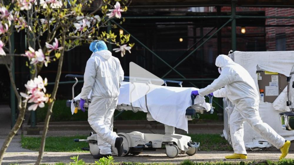 أميركا: 756 وفاة جديدة بفيروس كورونا