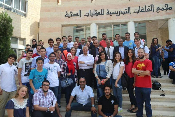كلية الطب في الجامعة الاردنية تقيم مائدة افطار على شرف رئيسها