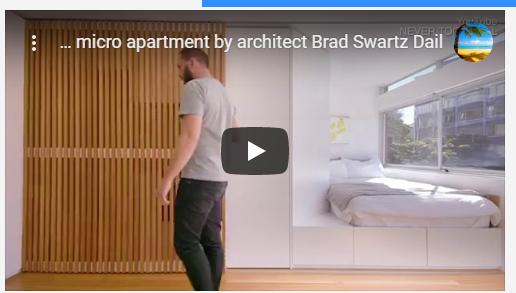 بالفيديو :حيلة بسيطة حولت استوديو ضيقاً إلى شقة واسعة
