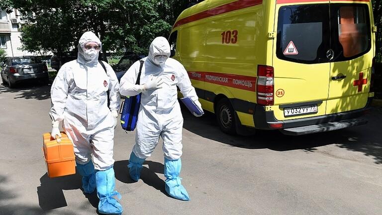 روسيا تسجل 5189 إصابة و77 وفاة جديدة بكورونا خلال يوم