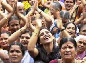 فيديو مثير ... الهند تحتفل بيوم الضحك العالمي