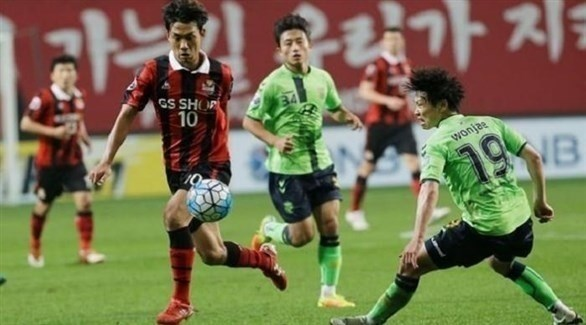 تأجيل مباريات في دوري كوريا الجنوبية للقدم بسبب كورونا