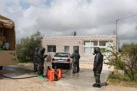 سلاح الهندسة يطهر عدداً من الأماكن بمنطقة الجحفية في إربد
