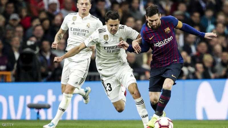 """5 عوامل تشعل كلاسيكو """"النار"""" بين برشلونة وريال مدريد"""