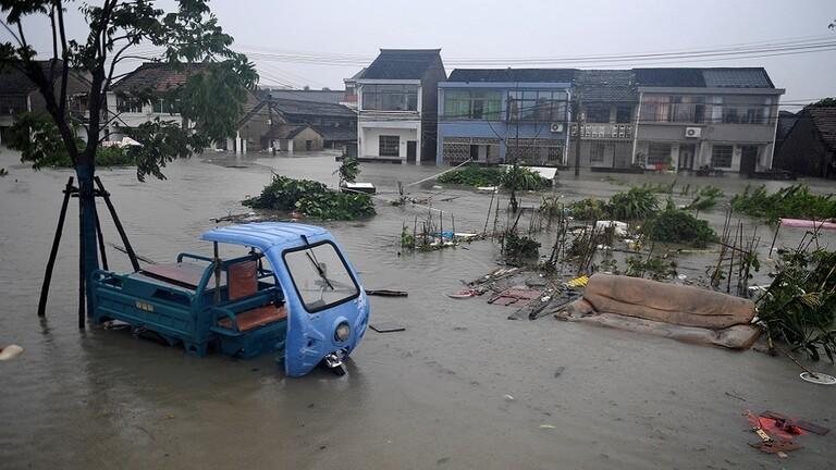 ارتفاع عدد ضحايا فيضانات الصين إلى 99