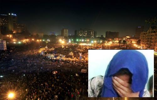 (مغتصبات التحرير) عار في جبين البرادعي وصباحي