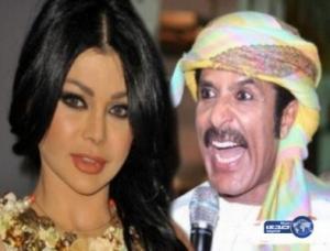 من جديد.. عبدالله بالخير يطلب يد هيفاء وهبي ويعدها بزفاف اسطوري