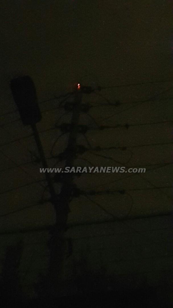 عين الباشا : مواطنون يطالبون بتعويض  من شركة الكهرباء الاردنية بسبب انقطاع التيار الكهربائي .. صور