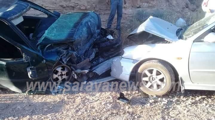 وفاة سيدةوإصابة اثنين آخرين اثر حادث تصادمفي معان  .. صور